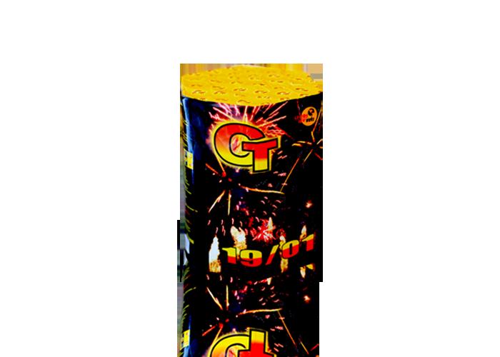Салютная установка фейерверк 19 выстрелов CT19/01