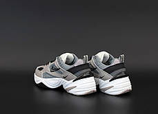 Женские кроссовки Nike M2K Tekno. Grey.  ТОП реплика ААА класса., фото 2
