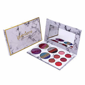 Тени Glamierre Rainbow Your Eyes Glitter and Matte