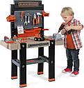 Детский набор инструментов Smoby Смоби интерактивная мастерская 95 аксессуаров Black+Decker 360702, фото 10