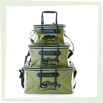 Рибальські сумки і ящики
