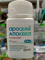 Апоквел/Apoquel 5,4 мг 20 табл. (Zoetis/Зоетис) препарат против зуда у собак