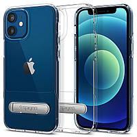 "Чохол Spigen для iPhone 12 Mini 5.4"" (2020) Slim Armor Essential S, Crystal Clear (ACS01553), фото 1"