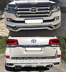 Обвіс Modellista Toyota Land Cruiser 200 2016, уцінка