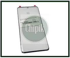 Скло для переклеювання дисплея Samsung G988, Galaxy S20 Ultra, чорне