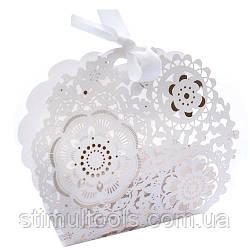 Бонбоньерка (коробочка для конфет) Stenson 10.5*3*9 см, 50 шт в упаковке