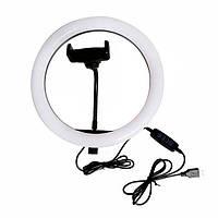 Кольцевая LED лампа для селфи 26 см (без штатива)