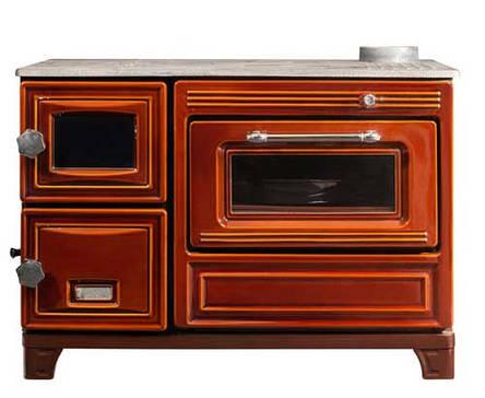 Печь-кухня EК-106 F Duval на дровах, угле с духовкой, фото 2