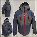 Молодіжна чоловіча зимова куртка VArt матова, фото 5