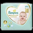 Подгузники Pampers Premium Care Размер 4 (Maxi), 9-14 кг, 34 подгузника, фото 2