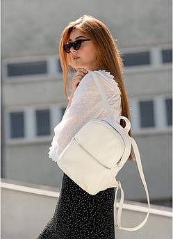 Женский модный белый рюкзак