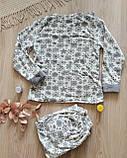 Женская теплая пижама Махра + Флис, фото 3
