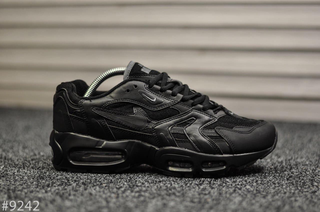 """Кроссовки Nike Air Max 96 Black """"Черные"""""""