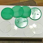 Заготовки для значков. Цвет зеленый. Диаметр фото 50 мм, фото 2