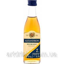 Alexandrion Group Brandy Alexandrion 7 * 0.05 L 40%