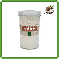 Масло кокосовое (450 мл) - свежее, RAW (отжим до 40°C), от производителя