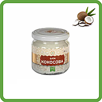Масло кокосовое (180 мл) - свежее, RAW (отжим до 40°C), от производителя