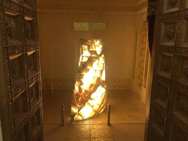 Освещение  Храма -1