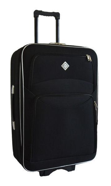 Дорожный чемодан на колесах Bonro Style Черный Большой