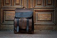 Кожаный рюкзак /Мужской повседневный рюкзак