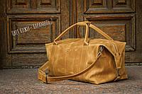 Спортивная кожаная сумка, Дорожная кожаная сумка