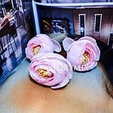 """Шпильки для волос с цветками пион """"Pink Peonies"""", 3шт, фото 3"""