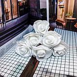"""Шпильки для волосся з квітами троянди """"Tender Rose"""", 6 шт, фото 2"""