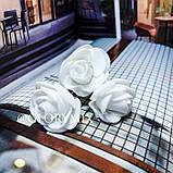 """Шпильки для волосся з квітами троянди """"Tender Rose"""", 6 шт, фото 3"""