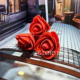 """Шпильки для волосся з квітами троянди """"Tender Rose"""", 6 шт, фото 6"""