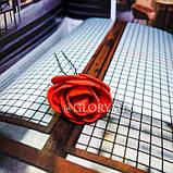 """Шпильки для волосся з квітами троянди """"Tender Rose"""", 6 шт, фото 7"""