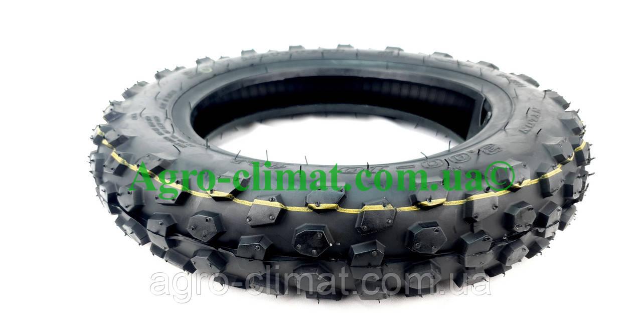 Резина на скутер 3.00-10 бескамерная кросс Moto Tech TL, фото 5