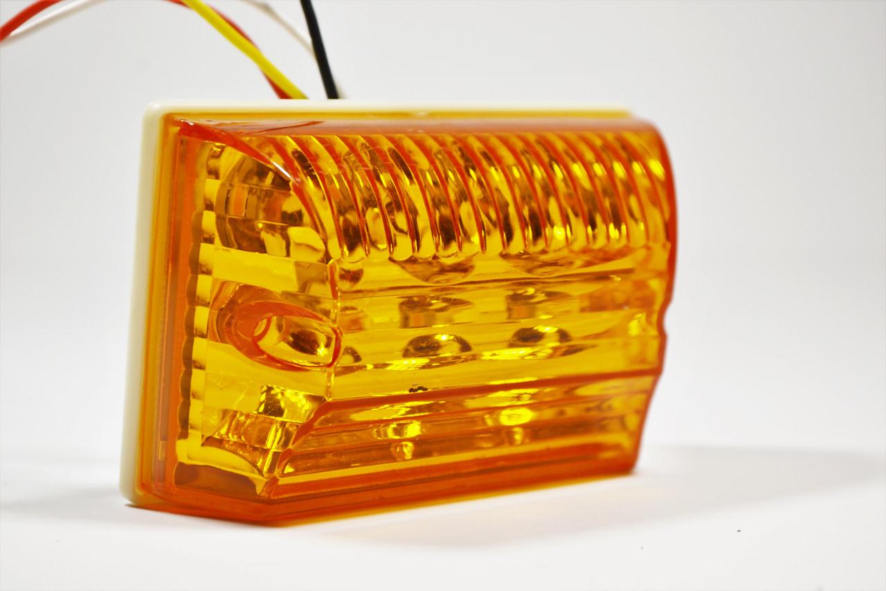 Автомобильный светодиодный 30вт Фонарь лед Желтый-Белый з подсветкой на номер / Сельхоз техника