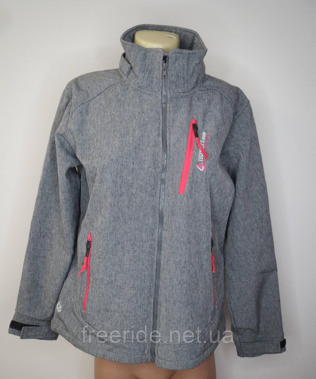 Софтшелл женский Legenders Sports (2XL) куртка на флисе