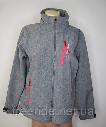 Софтшелл женский Legenders Sports (2XL) куртка на флисе, фото 2