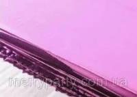 50х70 см Бумага упаковочная розов./сереб. металлик двухсторонняя