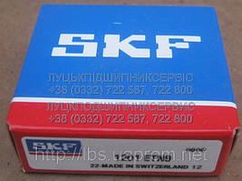 1201 ETN9 Радиальные сферические двухрядные подшипники SKF