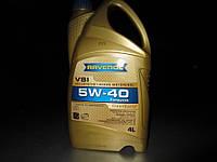 Масло моторное синтетическое  RAVENOL (равенол) VSI SAE 5W-40 4л.