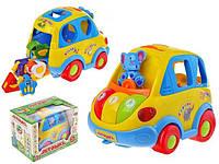 Развивающая игрушка Автошка Joy Toy на украинском языке