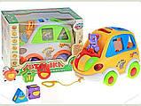 Развивающая игрушка Автошка Joy Toy на украинском языке, фото 3
