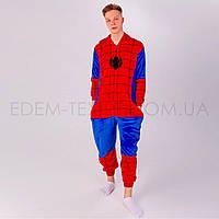 Костюм кигуруми Человек паук р. L 44-46 для взрослых и подростков