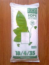Фасовка 18*35 см/ 10 мкм, 1000 шт. в пачці, біорозкладані міцні, щільні, фасувальні пакети, тысячка купити
