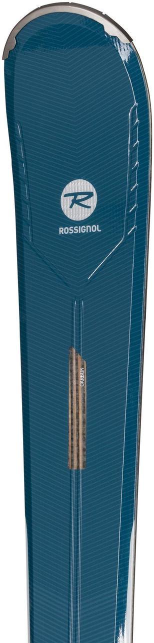 Гірськи лижі ROSSIGNOL  NOVA 4 Ca +крепления XP W 10 WHT/TURQ 154