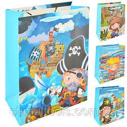 """Пакет подарочный Stenson """"Пираты"""" (12 штук в упаковке)"""