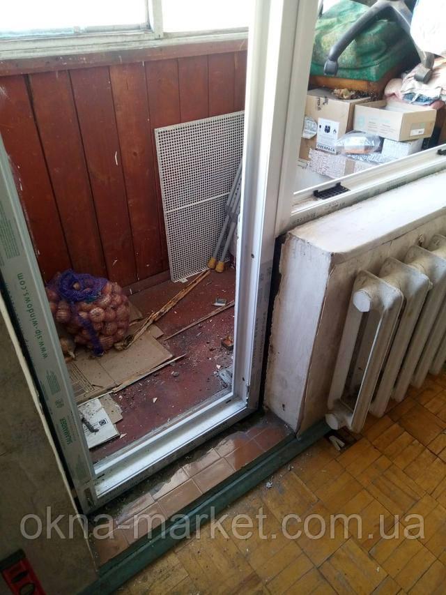 Балконний блок Salamander Streamline 76 фото Вікна Маркет