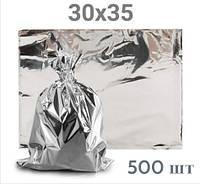 Металлизированный термопакет для курей-гриль 30Х35