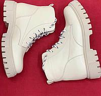 Женские зимние ботиночки из натуральной кожи.