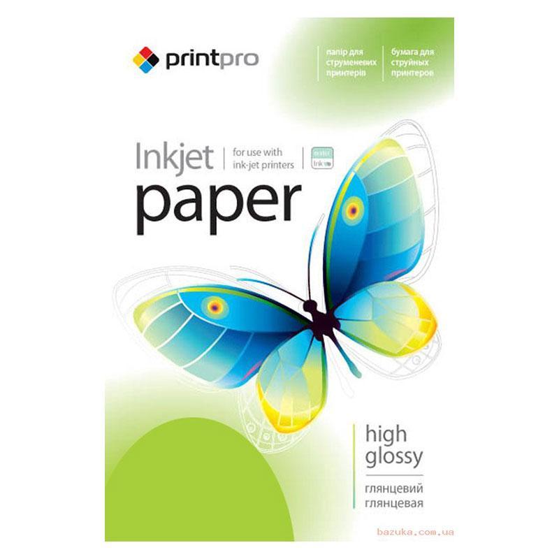 Глянцевая фотобумага PrintPro 200гр, А6, 1000 листов