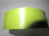 Лента атлас 2,5 см светлая оливка, фото 1