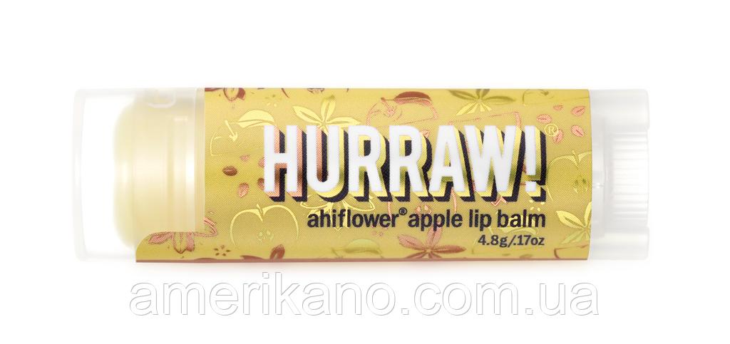 Натуральный бальзам для губ Hurraw Baobab Banana Lip Balm Баобаб и банан, США