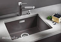 Кухонная гранитная мойка Blanco Subline 500-U